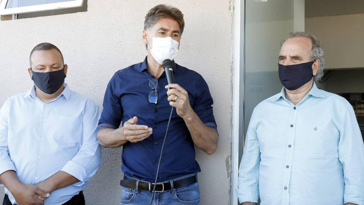 """""""Vamos chegar a 100% da cobertura básica"""", diz Paranhos"""