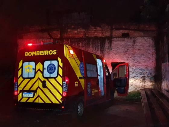Mulher cai em poço de oito metros no Bairro São Cristóvão em Cascavel