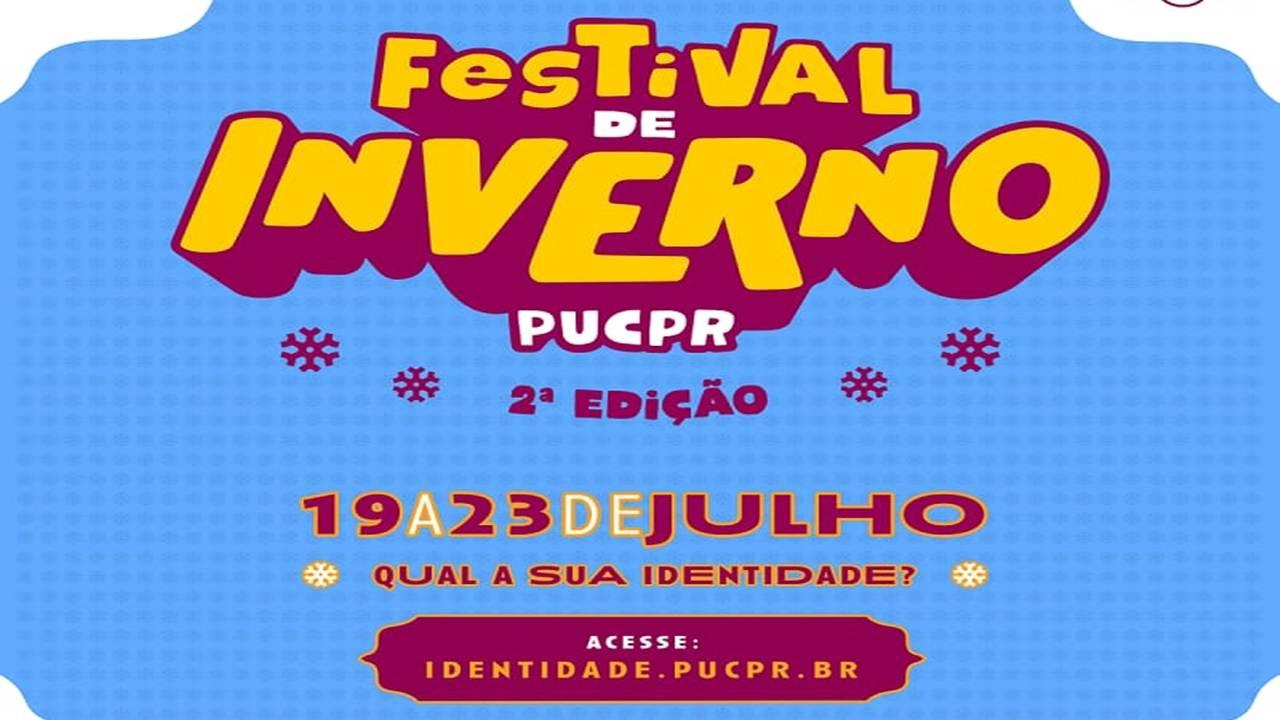 Festival de Inverno PUCPR terá oficinas online, gratuitas e abertas ao público