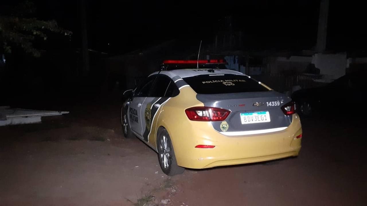 Filho ameaça jogar óleo quente na mãe e é detido pela Polícia Militar no Bairro Interlagos