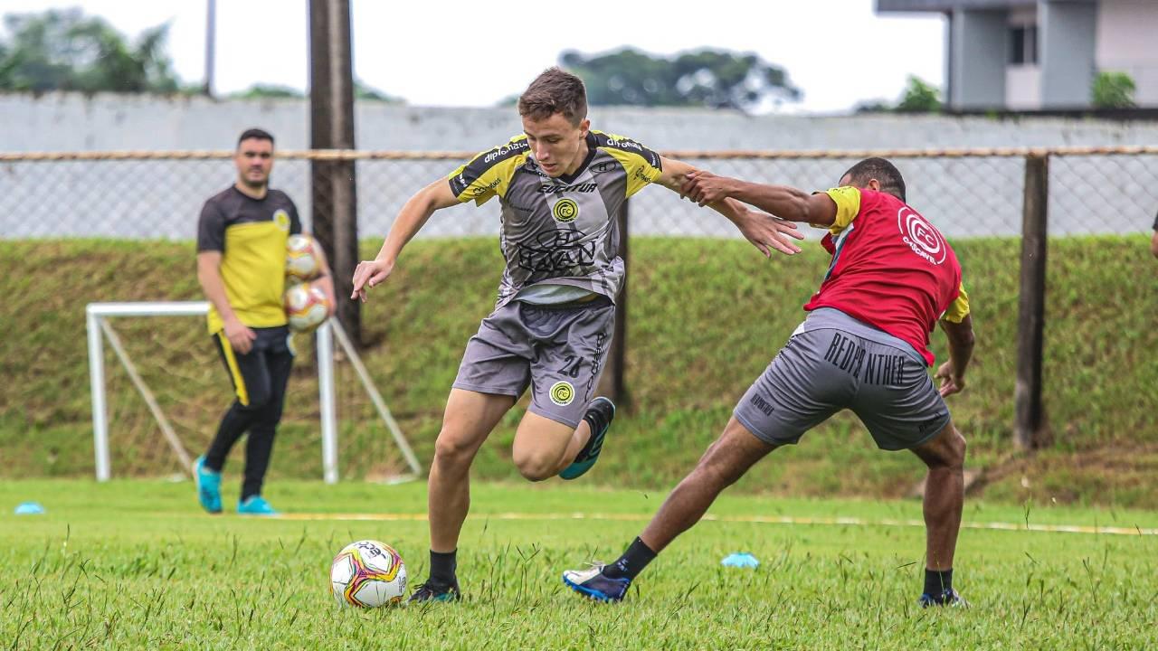 Com quatro jogos-treinos agendados, FC Cascavel segue preparação para o Paranaense 2021