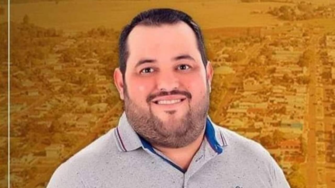 Vereador de Boa Vista da Aparecida, Juninho Granetto, morre por Covid-19