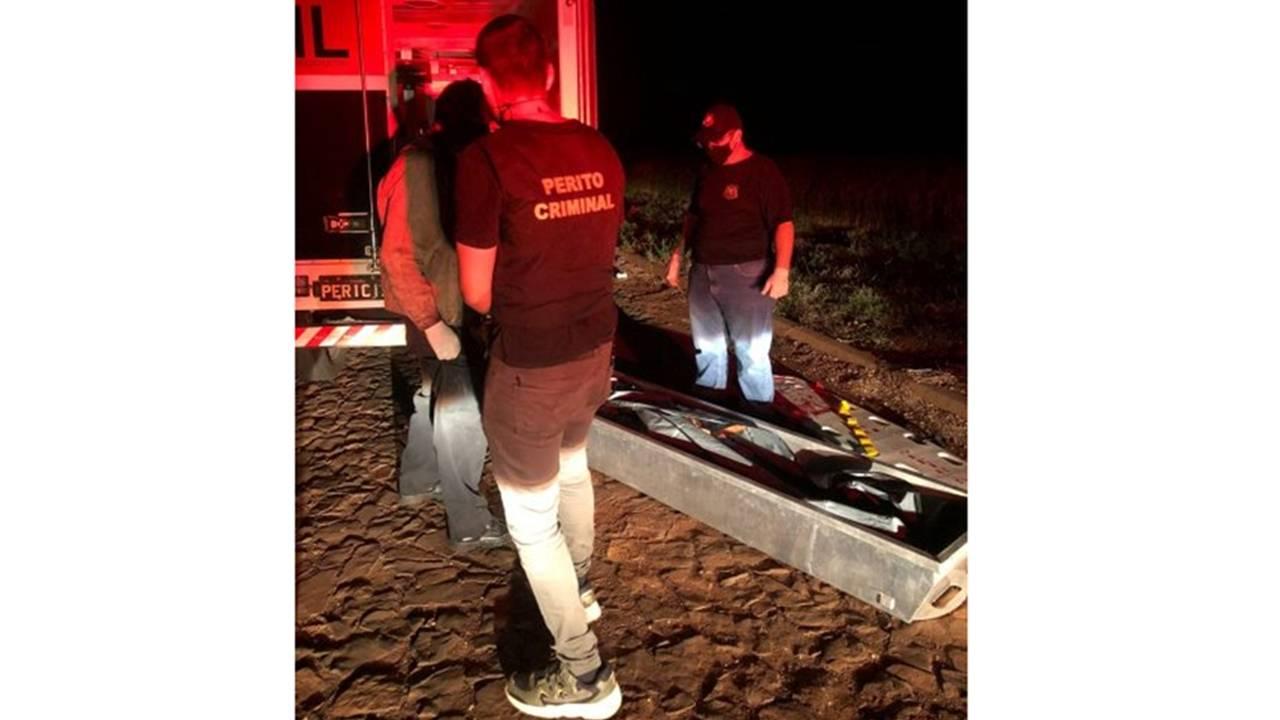 Festa na rodovia PR-497 termina com duas pessoas mortas e seis feridas