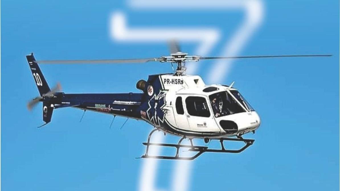 Serviço Aeromédico da Macrorregião Oeste completa 7 anos em Cascavel