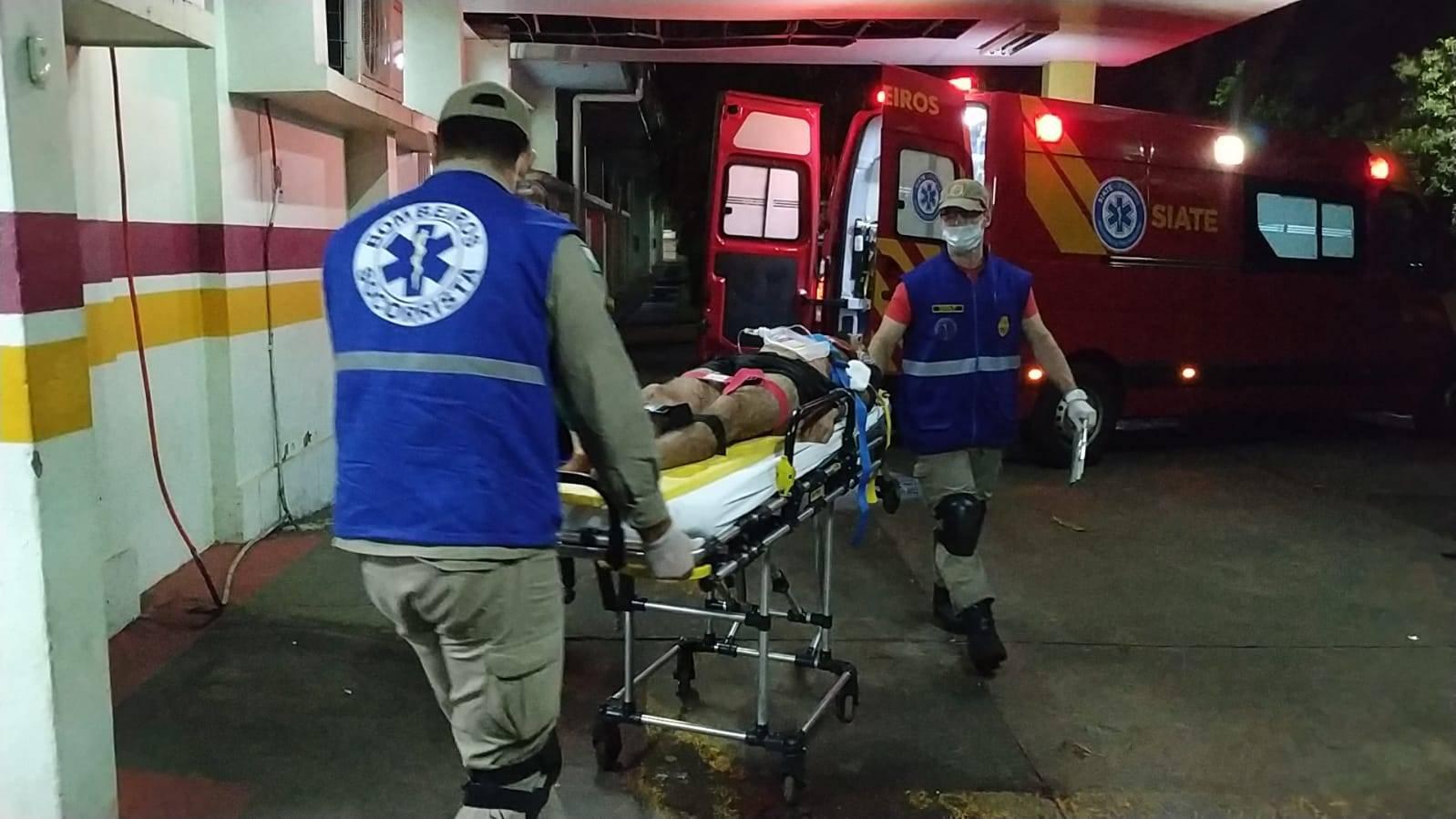 Madrugada Violenta: Três pessoas são baleadas em Foz do Iguaçu