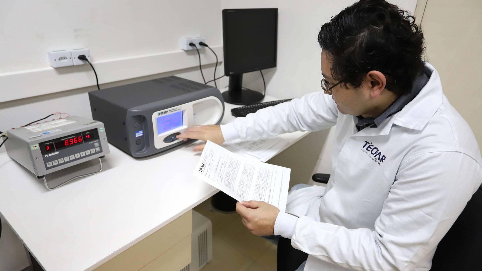 Em uma parceria com Tecpar, laboratórios da Sanepar são reconhecidos pela qualidade