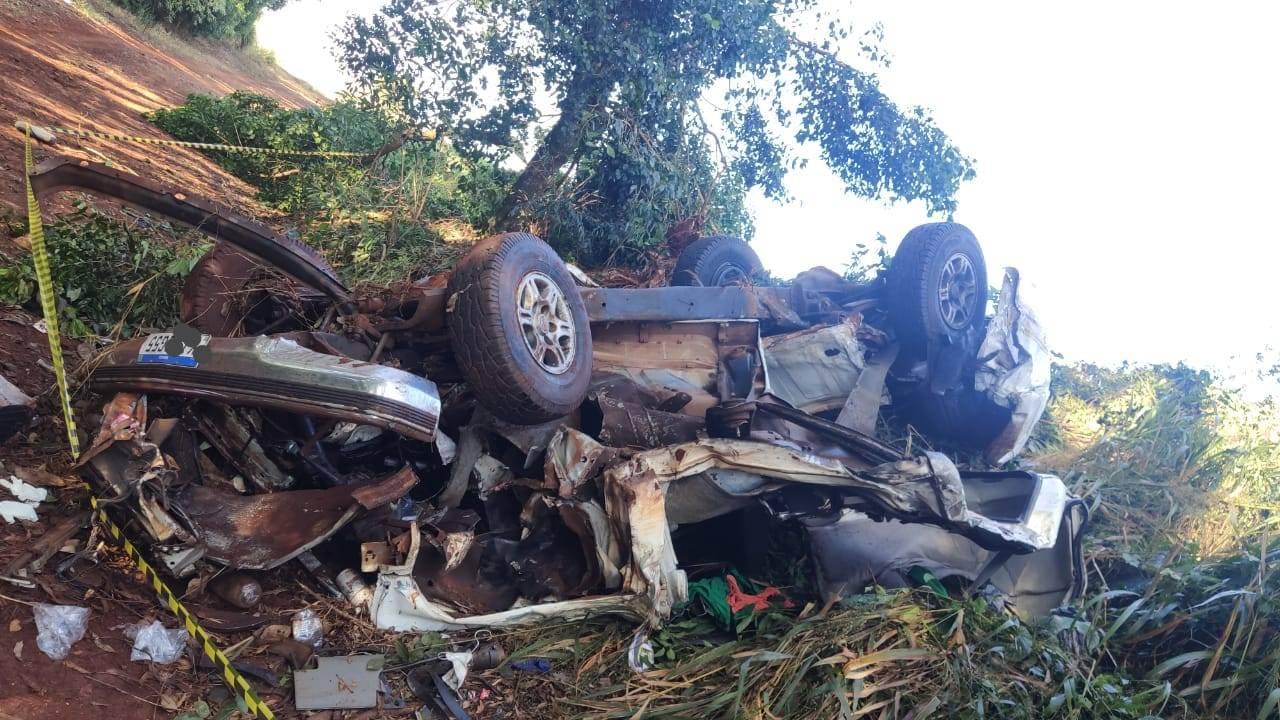 Grave acidente deixa vítima fatal na PR-180, em Cascavel