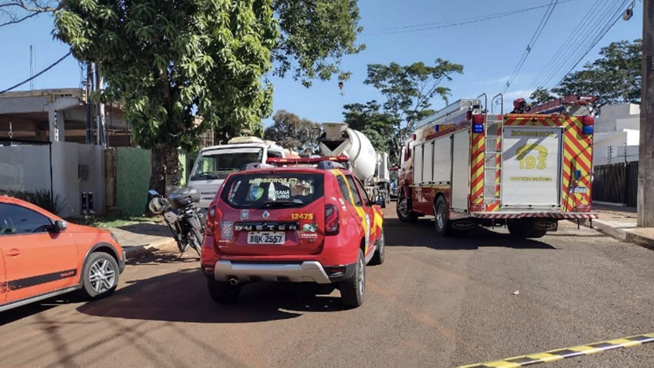 Laje em construção desaba e deixa pelo menos 2 mortos e 3 feridos