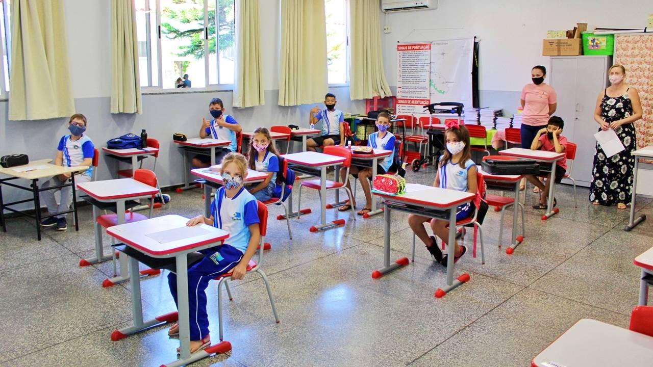 Mais de 90% dos alunos retornaram às atividades escolares em Itaipulândia