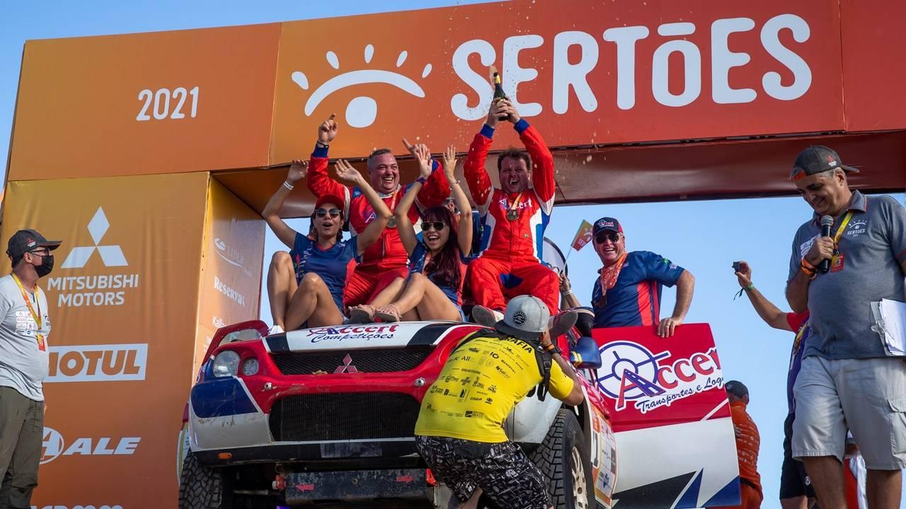 Accert Competições conquistou o Prêmio de Melhor Equipe do rali do Sertões em 2021