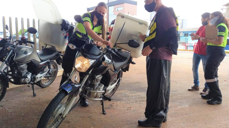Motofrete: Transitar realiza vistoria e planeja nova ferramenta para aumentar a segurança