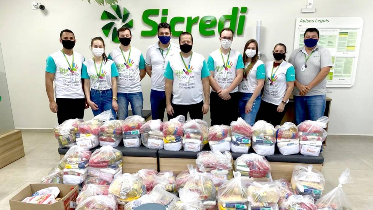 Ações do Sicredi no Dia de Cooperar beneficiam mais de 165 mil pessoas