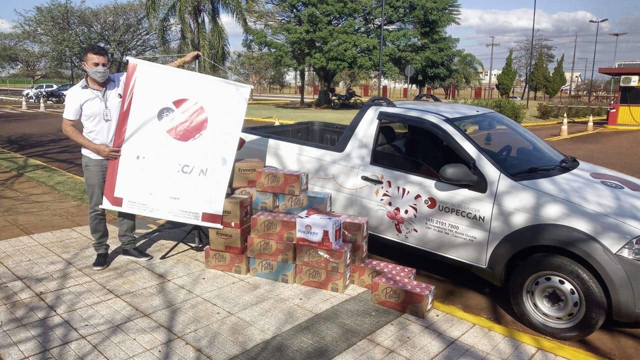 PUCPR Toledo promove campanha de doação e arrecada mais de uma tonelada de alimentos
