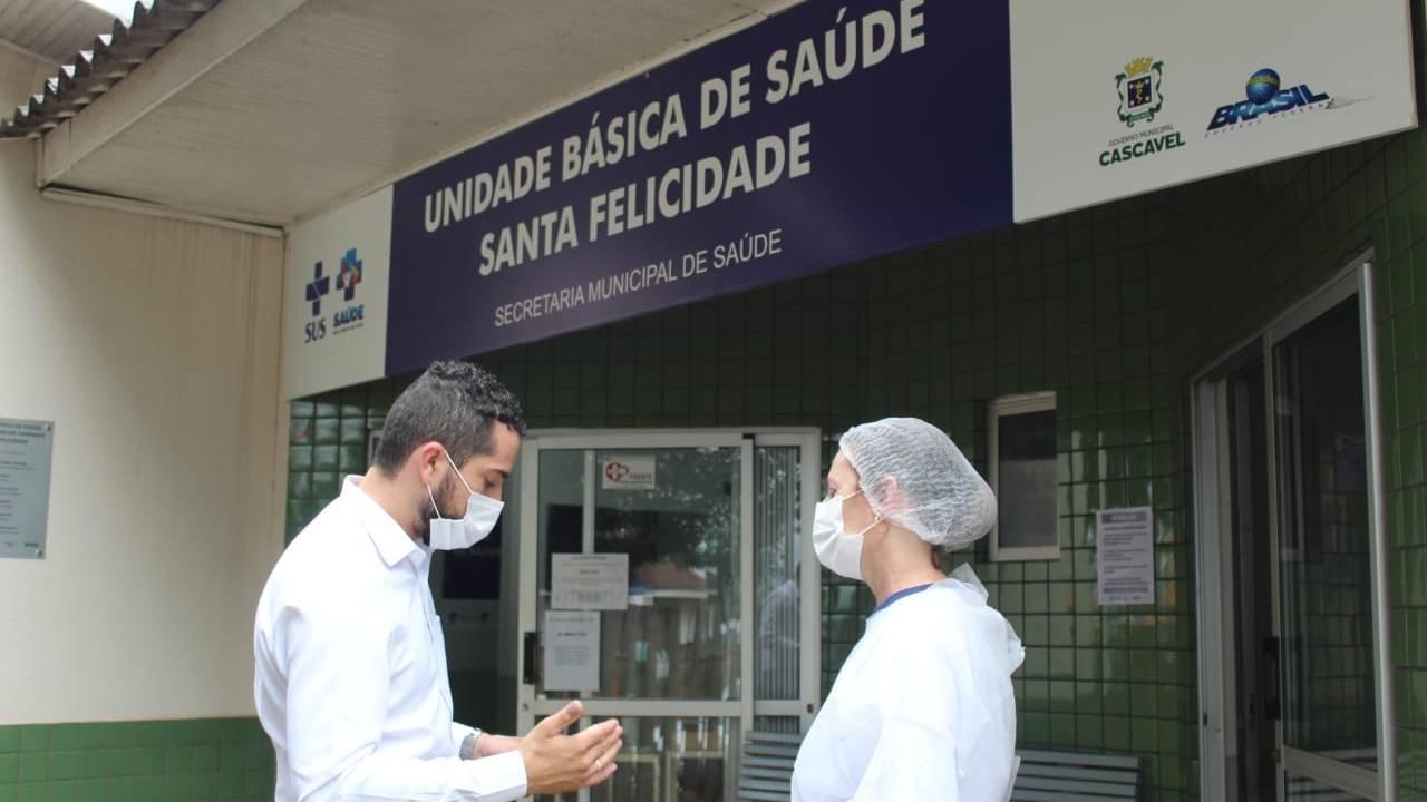 Tiago Almeida encontra precariedade e falta de pessoal em visita a unidades de saúde