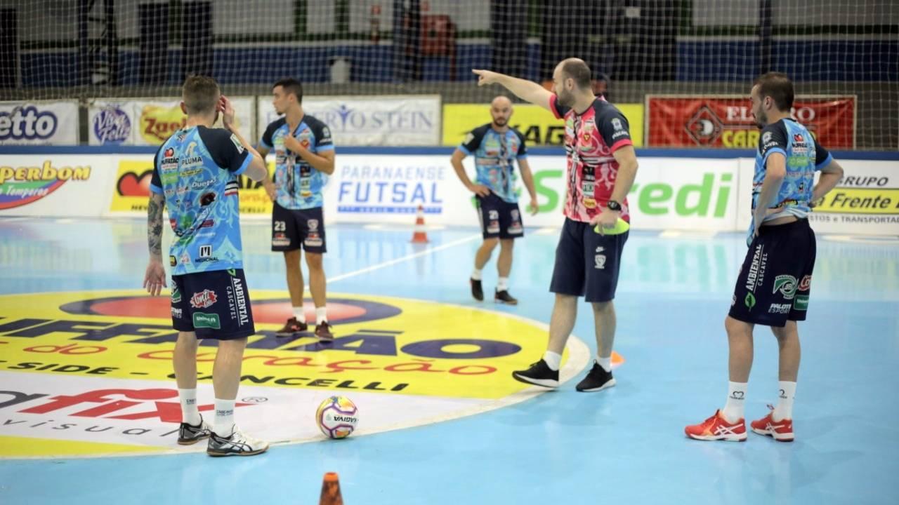 Cascavel Futsal dá o pontapé inicial na pré-temporada 2021