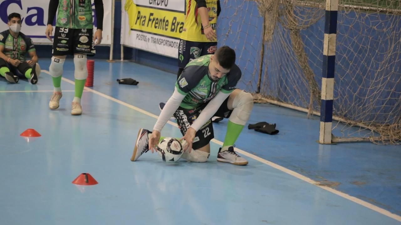 Cascavel Futsal e Campo Mourão se enfrentam em jogo-treino