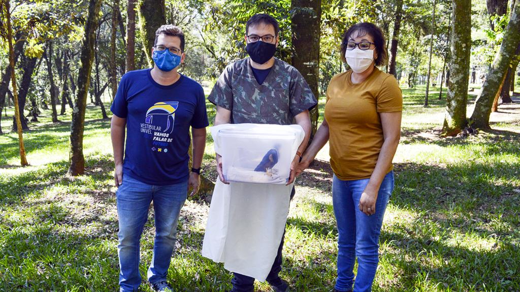 Clínica Veterinária da Univel realiza parceria com IAT - Instituto Água e Terra