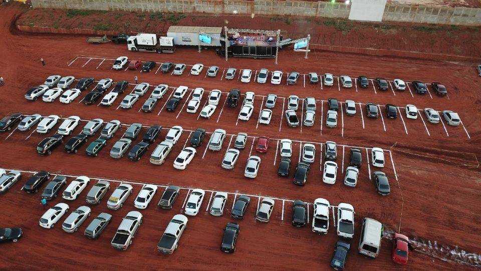 Drive Thru de Oração: Igreja reunirá fiéis dentro de carros para celebrar culto em Campo Mourão