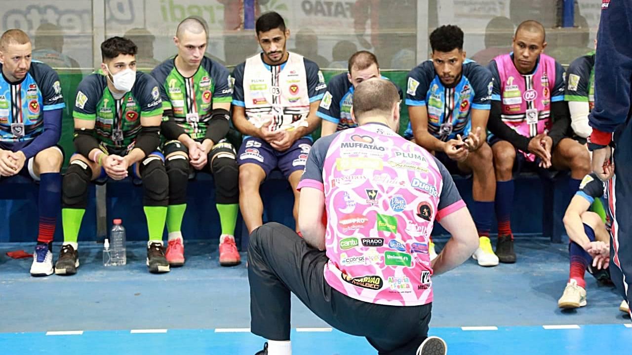 Cascavel Futsal enfrenta Ampére nesta quinta-feira (27), pelo Campeonato Paranaense