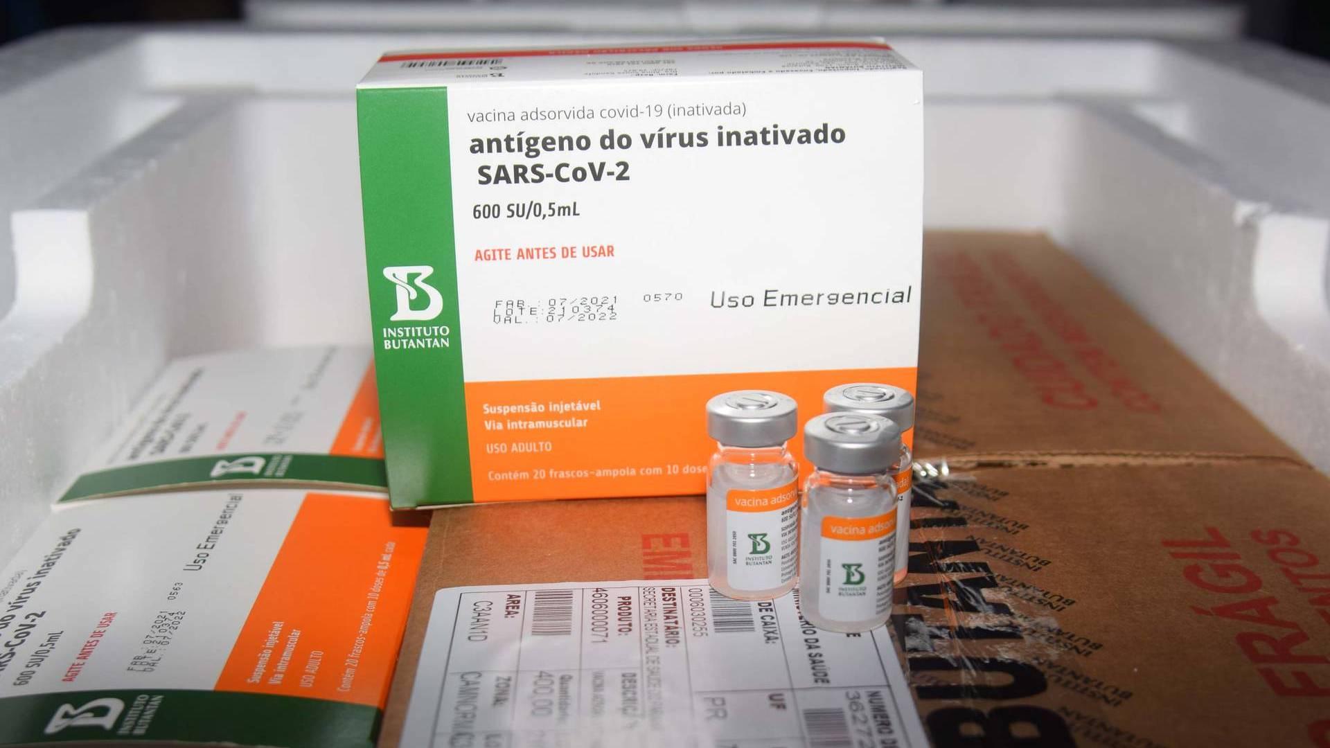 Paraná vai receber lote com mais 366.300 doses de vacinas contra a Covid-19
