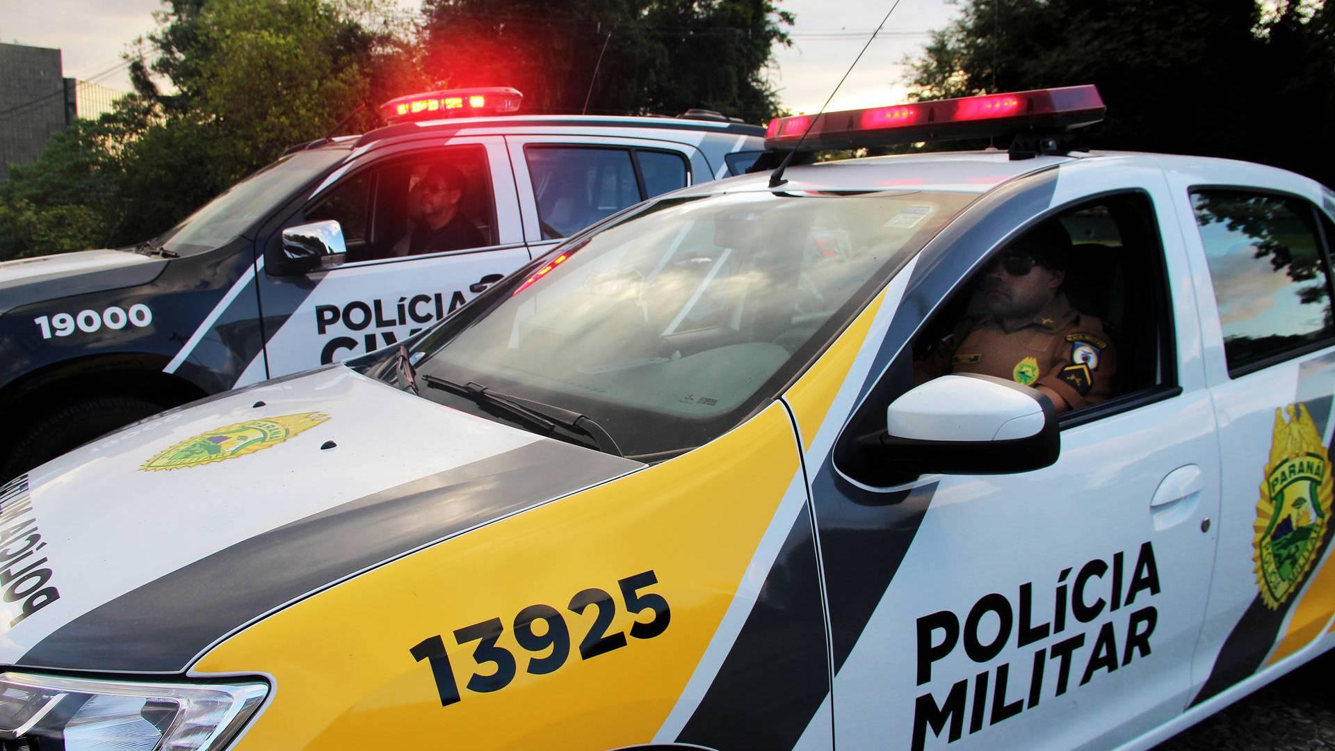 Paraná registra queda de quase 7 mil ocorrências de furtos e roubos no primeiro semestre