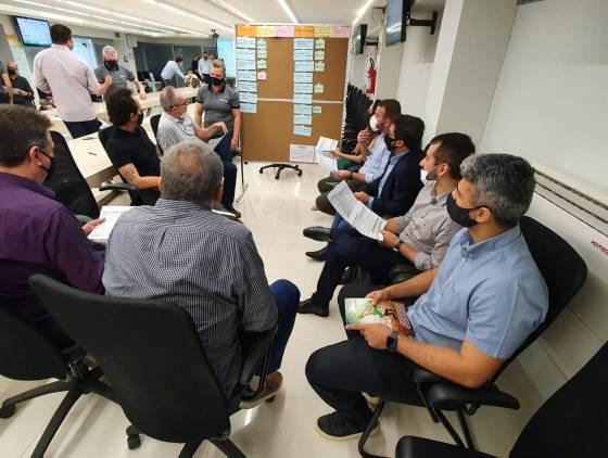 Caciopar reúne diretores para alinhar pontos do planejamento da gestão 2021/2022