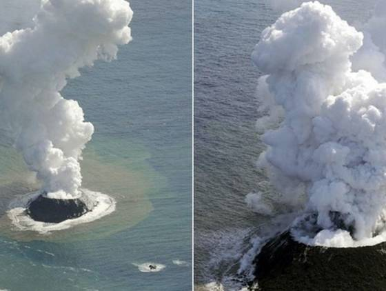 Governo japonês divulga novas imagens de ilha vulcânica também associada a risco de tsunami