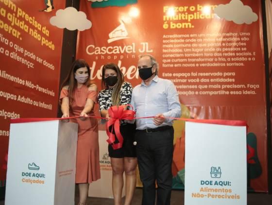 Iniciativa de shopping incentiva ação social em Cascavel