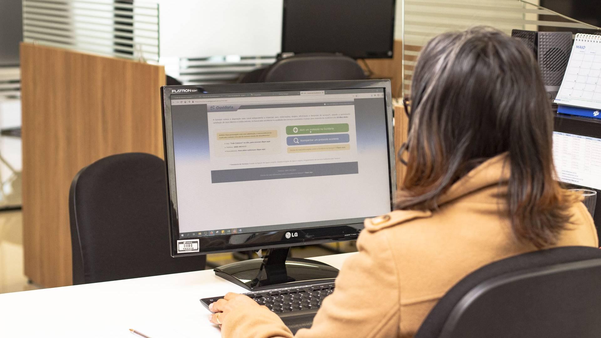 Clientes da Sanepar podem acionar Ouvidoria para reclamações, elogios e sugestões
