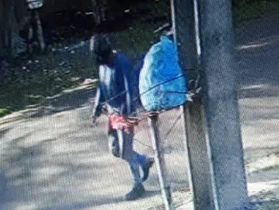 DH divulga imagens de câmera de segurança que flagra suspeito de homicídio de Ribamar Farias Ramos