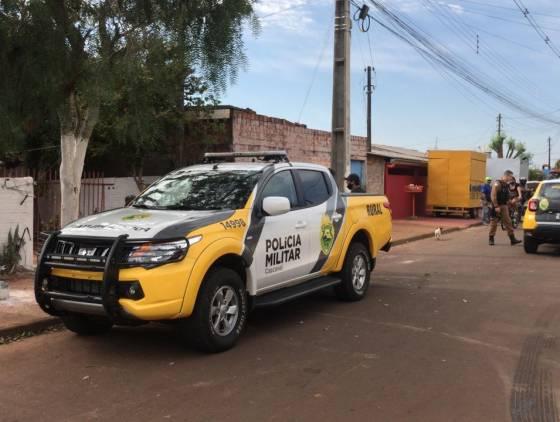 Polícia Militar realiza buscas pelo autor da tentativa de Homicídio no Loteamento Gralha Azul