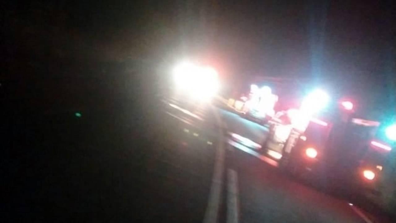 Jovem morre ao ser ejetado de veiculo na BR-163 em Pérola D' Oeste