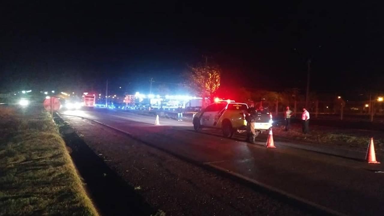 Homem morre atropelado por ônibus na PR 486 em Assis Chateaubriand