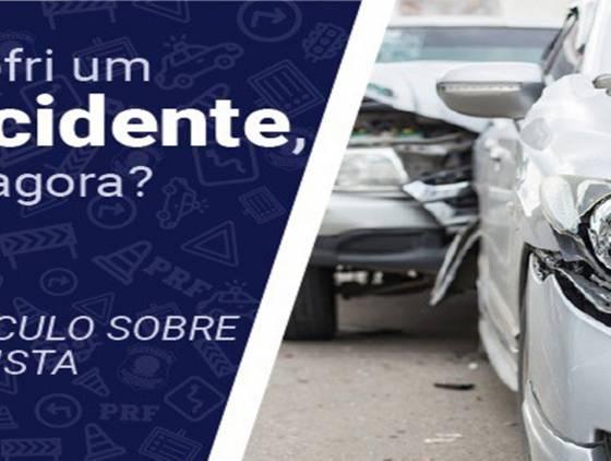 O que fazer em caso de acidentes? Campanha da PRF no Paraná orienta motoristas