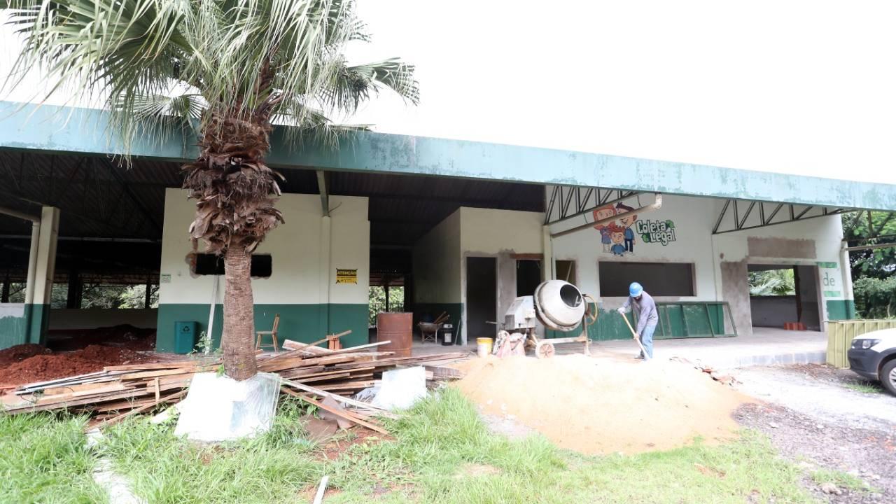 Ecoponto da rua Manaus passa por reforma
