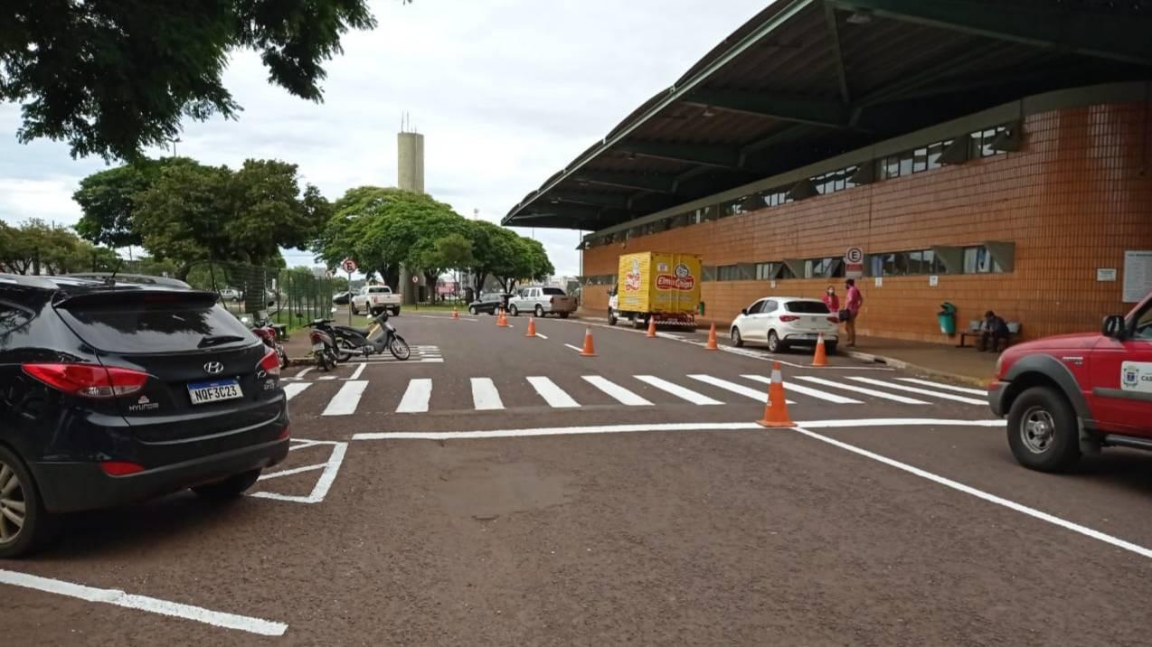 Terminal Rodoviário também é lugar de respeitar a sinalização de trânsito