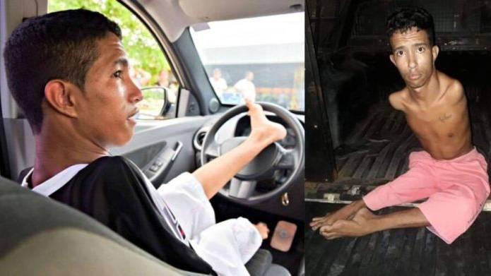 Motorista sem braço é preso após tentativa de assalto