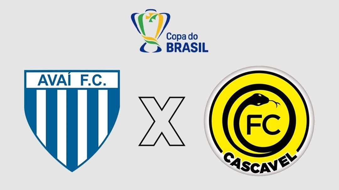 Copa do Brasil: CBF divulga data e horário do confronto entre FC Cascavel e Avaí