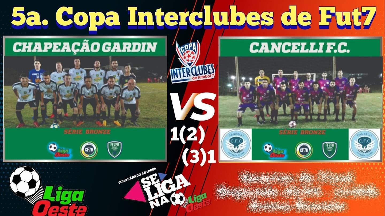 Cancelli FC vence Gardin nos shoot-out e garante vaga na final da 5ª Copa Interclubes Bronze