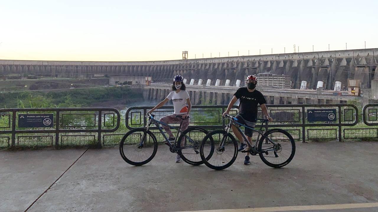 Itaipu by Bike: um jeito novo de visitar a usina de Itaipu