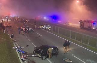 Caminhoneiro e funcionários de concessionária são indiciados pela morte de 8 pessoas na BR-277