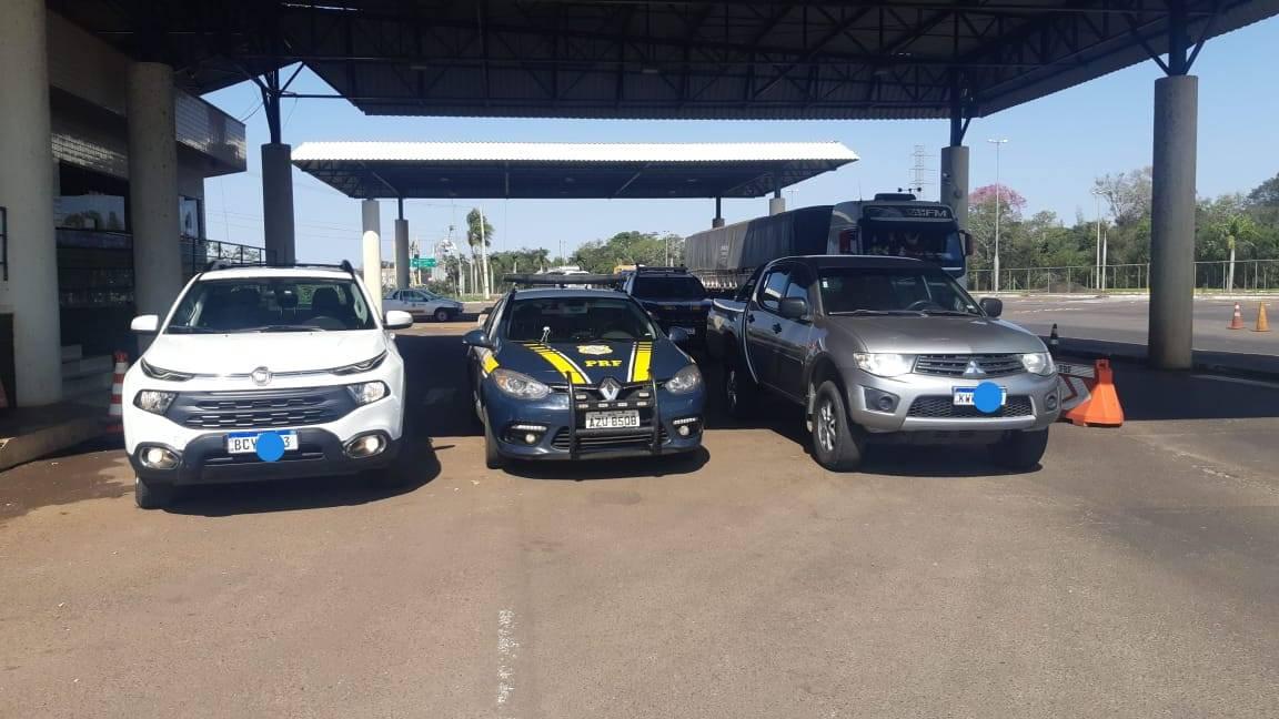 PRF recupera dois veículos que encontravam-se adulterados em Guaíra