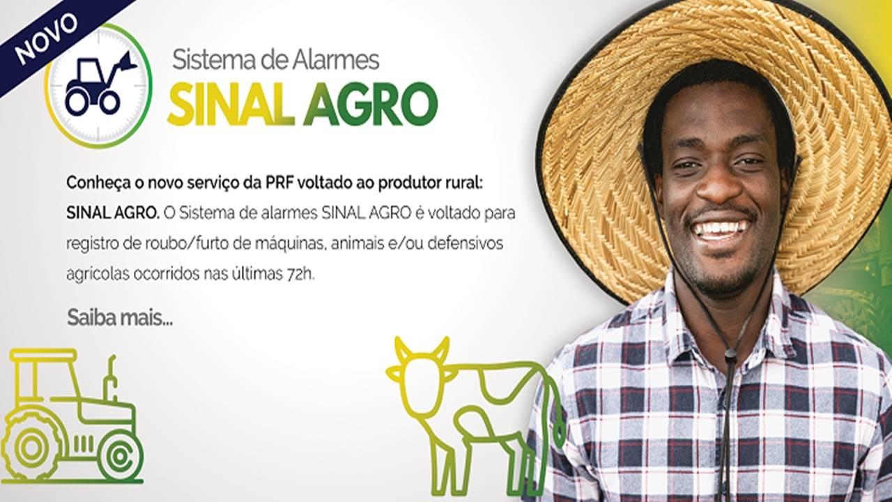 PRF lança Sinal Agro para registrar roubo e furto de animais e máquinas agrícolas
