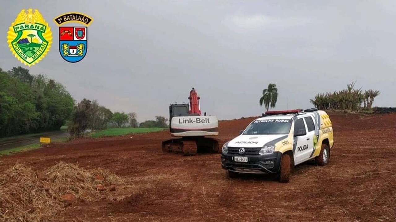 Polícia Militar Ambiental e IAT aplicam mais de R$ 360 mil em multas na Operação Nascente Viva