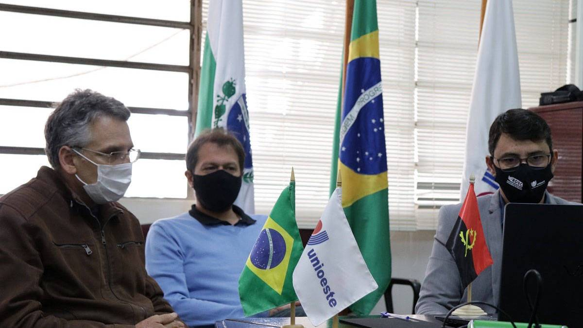 Unioeste e universidade de Angola se unem em parceria inédita de cooperação