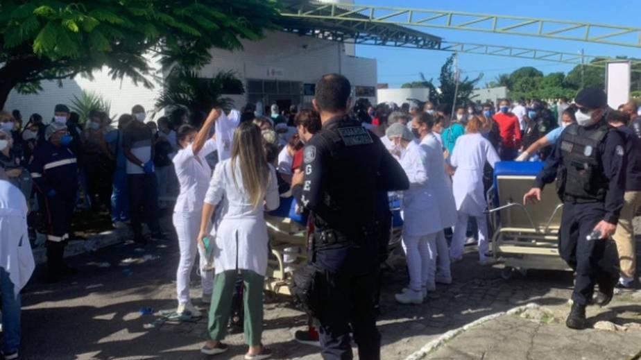 Incêndio atinge ala de hospital destinada a Covid-19 e deixa ao menos quatro mortos em Sergipe
