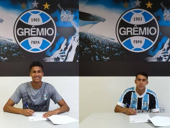 Meninos da base do FC Cascavel assinam com Grêmio por empréstimo até o fim de 2021