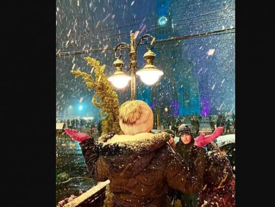 Neve cai em várias cidades do Rio Grande do Sul