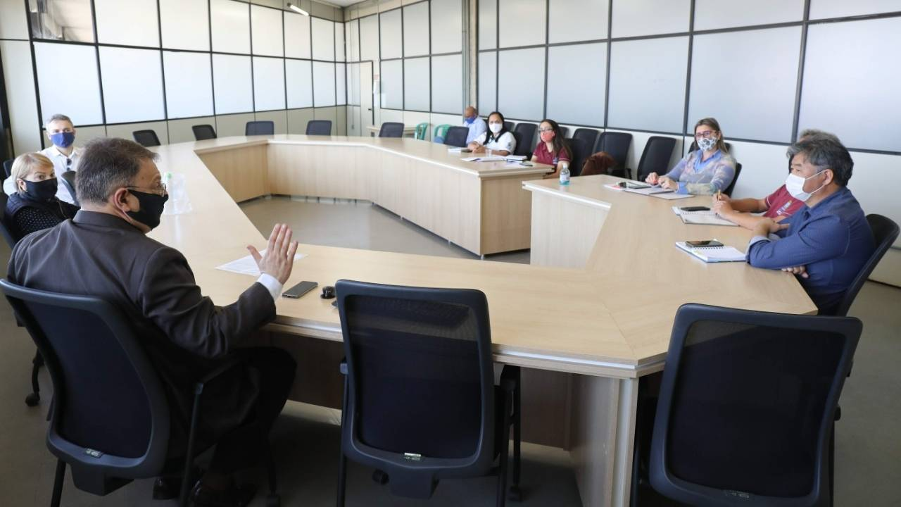 Reunião discute futuro do contrato do lixo em Cascavel