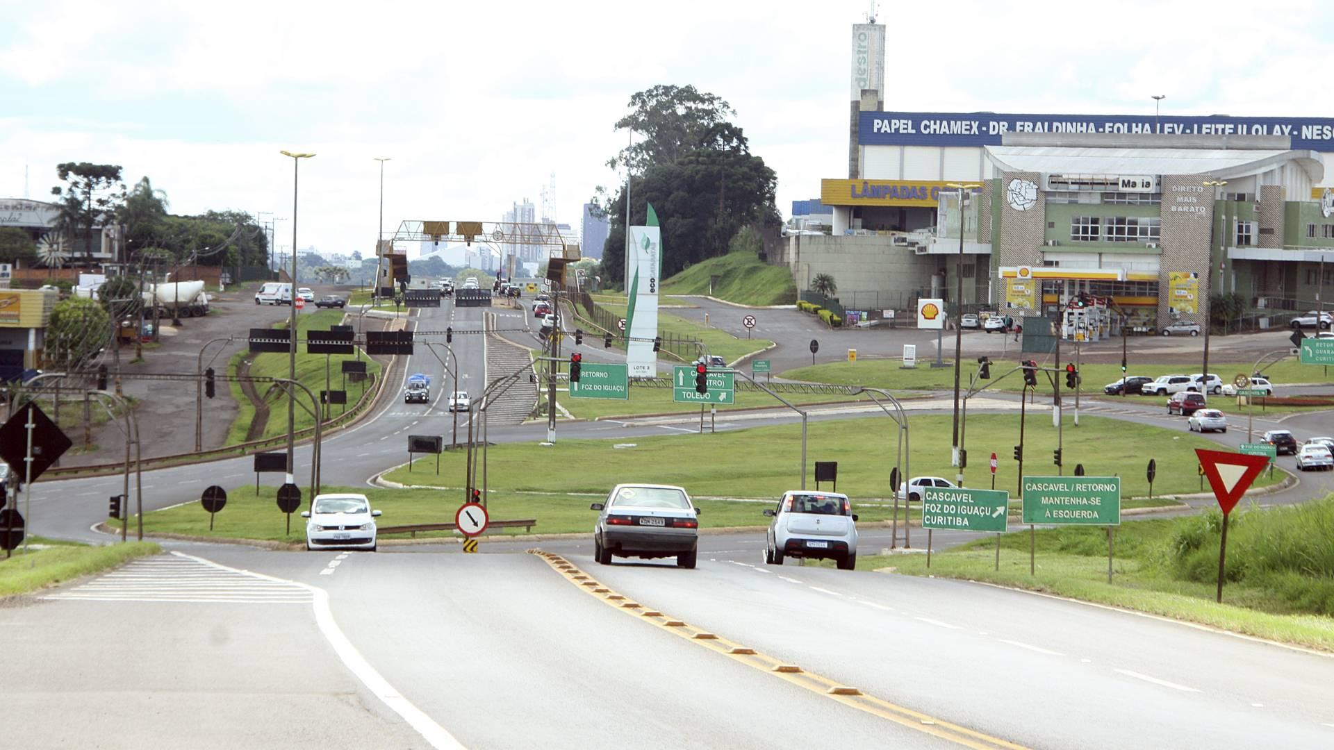 Trevo Cataratas: Para reestruturar, desvios precisarão ter 4 km de extensão